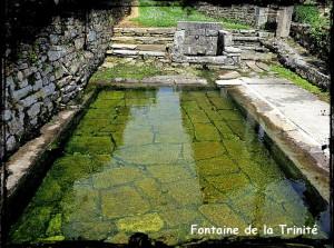 Melgven fontaine Trinité