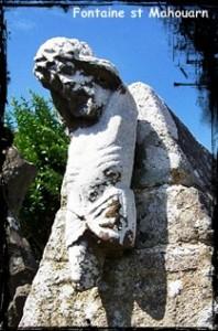 Avec du vieux ont fait du neuf. dans Fontaine à voûte- Plomo-st-Mahouarn-198x300