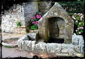 Chien enragé ! dans Fontaine à voûte- primelin-font-st-tugen