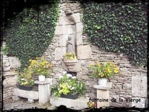 Bodilis fontaine de la Vierge