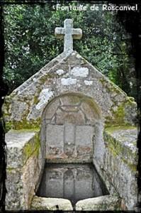 A la ferme. dans Fontaine pignon- roscanvel3-199x300