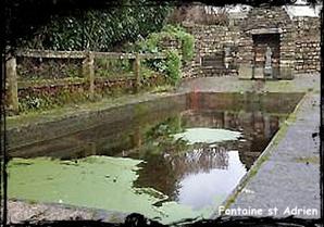 Un saint en vaut un autre. dans Fontaines sacrées et profanes- Le-Drennec-Font-St-Adrien
