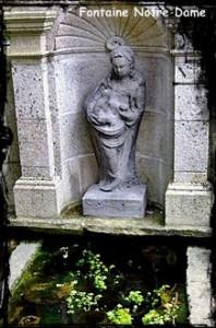 Le lavoir de Notre Dame. dans Fontaines sacrées et profanes- Notre-Dame-198x300