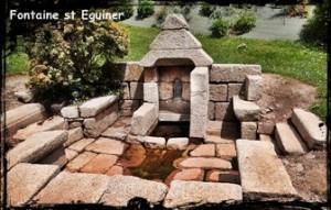 Eguiner et Jean. dans Fontaine de dévotion st-eguiner-300x191
