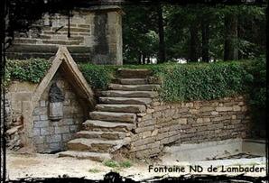 Fontaine multi-services. dans Fontaine accolée- Plouvorn-Lambader
