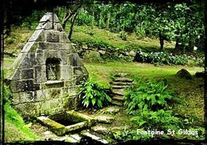 sant Weltaz. dans Fontaine de dévotion Guissény-font-St-Gildas