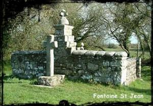 Jean le Baptiste. dans Fontaine de dévotion Trémaouézan-fontaine-St-Jean-300x208