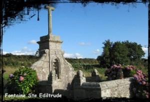 Santez Ventroc. dans Fontaine de guérison Treflez-Ste-Ediltrude-300x205