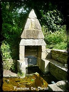 Plougonven-fontaine-de-Christ dans Fontaines sacrées-