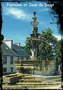 St Jean du Doigt. dans Fontaine urbaine- St-Jean-du-Doigt-font