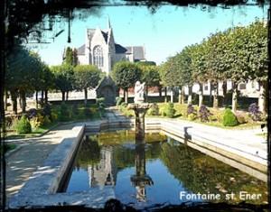 Ener au chateau. dans Fontaine de guérison guerlesquin-champ-de-batailles-300x235
