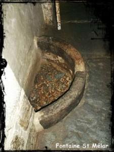 Sous terre. dans Fontaine de guérison lanmeur-st-melar-225x300