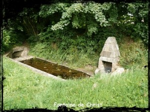 Pour les bovins. dans Fontaine à voûte- plougonven-font-de-Christ2-300x225