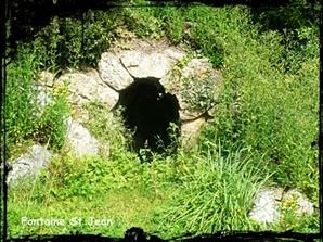 Egarec et Jean. dans Fontaines sacrées- Crozon-font-St-Jean