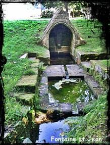 Gouezec-st-Jean dans Fontaine de guérison