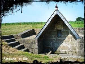 Alar, Brigit et Martin. dans Fontaine de guérison Plouarzel-Fontaine-saint-eloi2-300x225