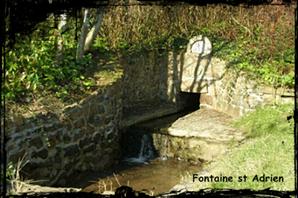 Mal au ventre. dans Fontaine de guérison Plougastel-St-Adrien