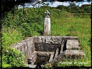 Ourzal isolé. dans Fontaine de guérison Porspoder-font-st-Ourzal