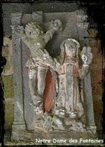 Belle à l'Abbaye. dans Fontaine de guérison ab-daoulas-215x300