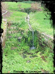 Quand le diable s'en mêle. dans Fontaine de guérison plouguin-font-de-Loc-Majan-224x300