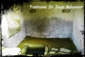 La maison de Jean. dans Fontaine de guérison plouvien_saint_jean_balanant