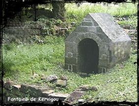 Renaissance. dans Fontaines sacrées- quimper-font-de-kervigou