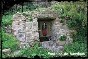 Yves et claire. dans Fontaine de dévotion plouguerneau-mezdoun