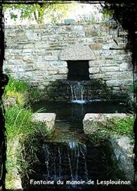 De manoir en manoir. dans Fontaine de dévotion plouenan-font-manoir-lesplouenan