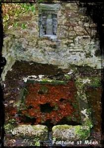 Droug sant Méan. dans Fontaine de guérison st-meen-210x300
