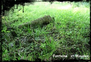 Maudez en voie de disparition. dans Fontaines sacrées- font-st-maudez-300x206