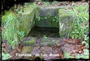 Fontaine de prieuré. dans Fontaines sacrées- loc-maze-font-chap-300x204
